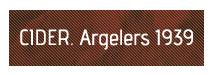 CIDER Argelers 1939